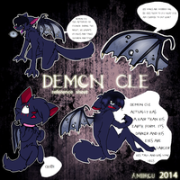 Demon Cleaver Reference sheet by amiirou