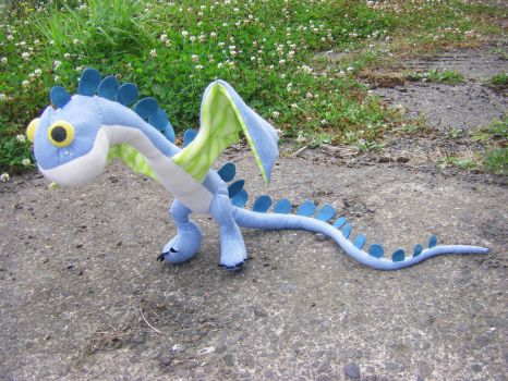 How to Train Your Dragon 2 Baby Scuttleclaw Plush by StarDapple