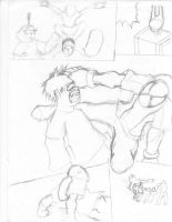 Spiderman doujinshi page four by jin52