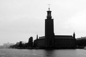 Stockholm City Hall by LordXar