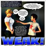 Embarrassingly Weak. by Lingster