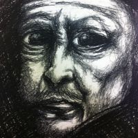 Expressionistic Rembrandt by CharlArends