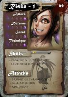 "SamGen card - ""Riske lvl 1"" by dinmoney"