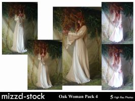 Oak Woman Pack 4 by mizzd-stock