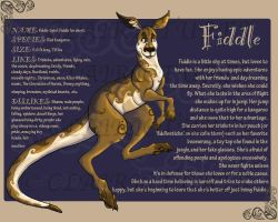 Fursona-Fiddle by Clairictures