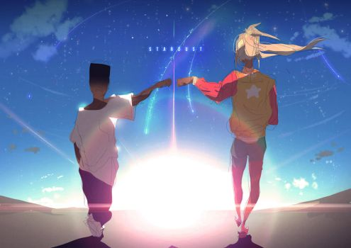 STARDUST | Fist Bump into the Sun by moxie2D