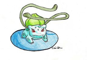 Number 1 - Bulbasaur by shenpure