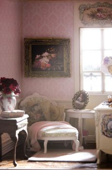 The Pink Boudoir by SRKminiature