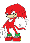 Knuckles by kawaiiartbyJapanFan