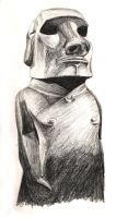 British Museum - Easter Island by thedisturbedfish