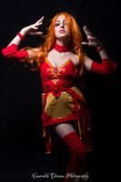 Lina - Dota2 by RainbowMissy
