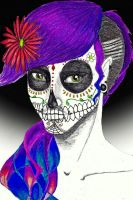 Day of the Dead by MissWhinnie