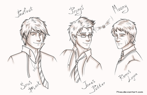 Marauders by 7Lisa