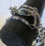 Bloodstone Double Coil Bracelet 2 by Windthin