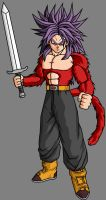 Future Trunks SSJ4 V4 by theothersmen