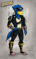 Falco Lombardi +Adventures by RatchetJak