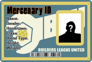 BLU Mercenary ID Card by TheCrimsonLoomis
