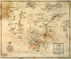 Map of Althea by esspkay