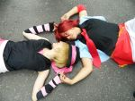 Ittoki Otoya with Syo - Uta no prince sama by LuanSouth