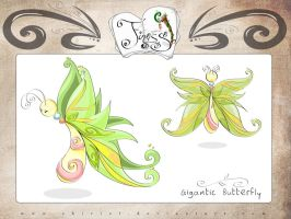 Finesse - Gigantic Butterfly by Shiriel