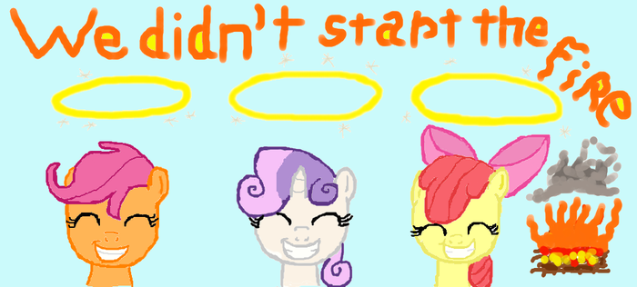 We Didnt Start the fire CMC by mouse again by StarDustCz