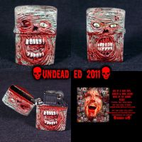 Zombie Zippo Lighter by Undead-Art