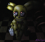 Springtrap Chibi by MikaCapde