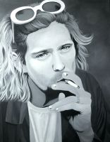 Kurt Cobain by nandamicole