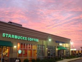Starbucks Sunrise by FrankieAlton
