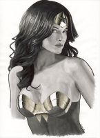 WonderWoman portrait by Promethean-Arts