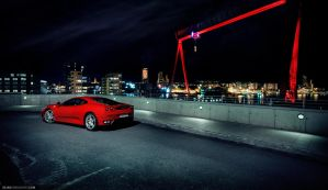 Ferrari F430 - Over Gothenburg by dejz0r
