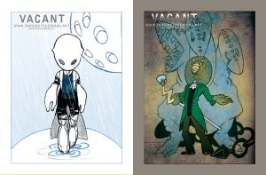Vacant postcards by ImagineTheEnding