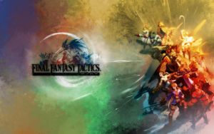 Final Fantasy Tactics Wallpape by kerokid