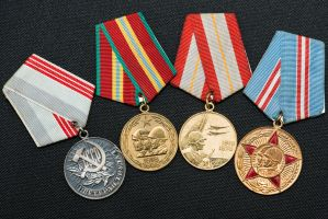 Soviet Union Medals by PLutonius
