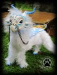 SOLD Dragon commission poseable art doll OOAK! by CreaturesofNat