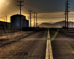 Plaster City Sunset by Adour1
