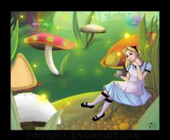 Wondering in Wonderland by RoroZoro