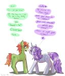 MLP:FIMOC When CloverStar met MoonSong by ThatChickWithDaPony