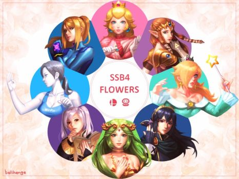 SSB4 Flowers by bellhenge