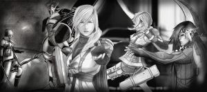 mash-up Final Fantasy XIII 2 by PolishPsycho