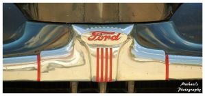 1946 Ford Hood Emblem by TheMan268