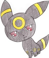 Chibi Umbreon by Simply-Auburn