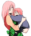 Makura and his mommy by SH178