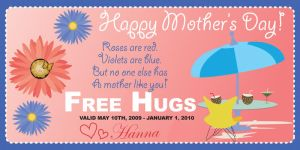 Mother's Day Coupon by Lemonachi