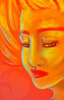 Flame Princess by YaneYing
