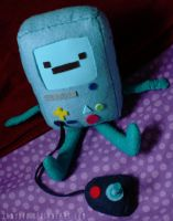 BMO plushie by tanyopo
