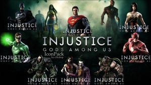 Injustice icon pack by cHolTOP