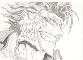 Grimmjow by EnragedPencil