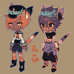 Adopts : wet and dry cats (closed) by faluu