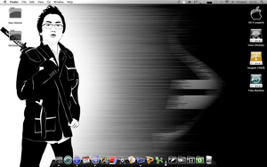 Hiro Desktop w Obsidianus Icon by r3dlink13